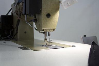 Detail šicího stroje