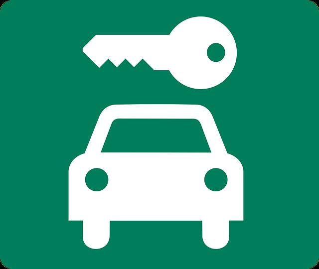 Klíč s autem