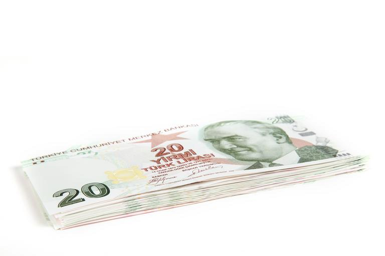 svazeček bankovek