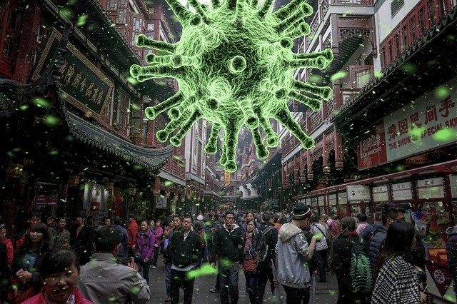 ilustrace viru